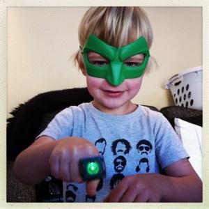 Green lantern (aka Mylo) 2012